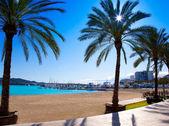 Abad plaży ibiza sant antoni de portmany — Zdjęcie stockowe
