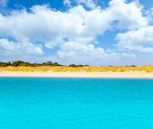 Espalmador в балеарские остров форментера — Стоковое фото