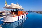 порт острова форментера с лодки в la savina — Стоковое фото