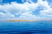 Espalmador in Formentera island Gastabi lighthouse — Stock Photo