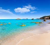 Aiguas Blanques Agua blanca Ibiza beach — Stock Photo