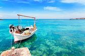 Els Pujols beach in Formentera — Stock Photo