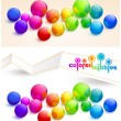 Colored bubbles - Stock Vector