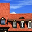 Tile roofs — Stock Photo