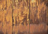 Paslı demir levhaları — Stok fotoğraf