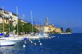Salo at Lake Garda, Italy — Stock Photo