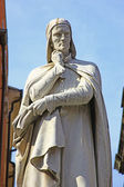 Pomnik dla dantego alighieri — Zdjęcie stockowe