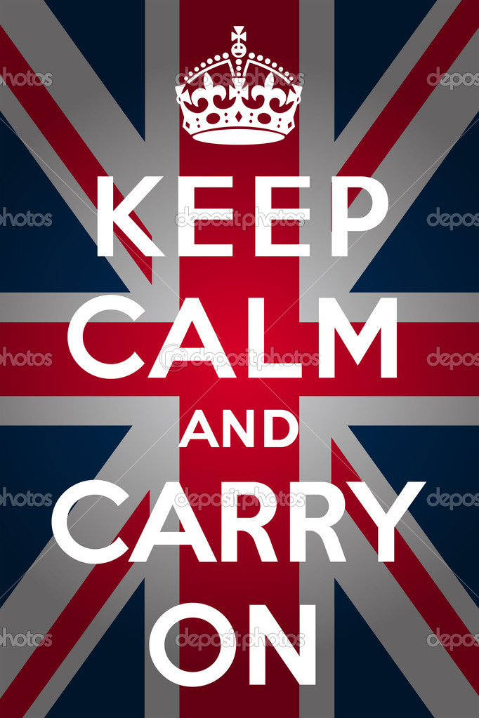 Keep Calm And Carry on Crown Vector Quot Keep Calm And Carry on Quot With