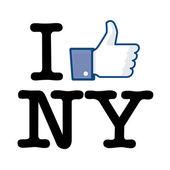 I Like New York — Stock Vector