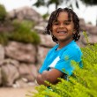 Portrait of a cute african american little boy — Stock Photo #11381075