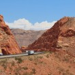 Desertic landscape of utah in the USA — Stock Photo