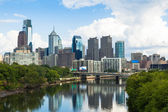 Skyline view of Philadelphia, Pennsylvania — Stock Photo