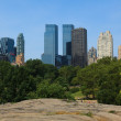 Stock Photo: Manhattskyline view from Central Park