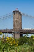 Pont de brooklyn à new york city — Photo