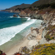Pacific coastline in California  - Highway one — Stock Photo