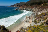 Pacific coastline in California - Highway one — Stock Photo