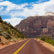 Royalty-Free Stock Photo: Road through Zion national park in Utah