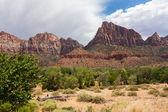 пустынных ландшафтов штата юта в сша — Стоковое фото