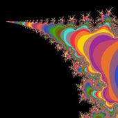 Fraktální geometrie — Stock fotografie