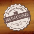 Fresh coffee — Stockvektor #11843061