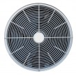 Air conditioner fan isolated — Stock Photo #11990485