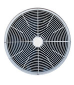 Air conditioner fan isolated — Stock Photo