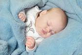 Little baby sleeping — Stock Photo