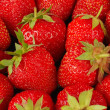 Background of the ripe fresh strawberry — Stock Photo