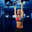 Foto Stock: Perfect woman abs