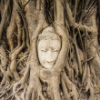 Sandstone Buddha — Stock Photo