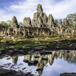 Bayon temple, Angkor Wat, Cambodia, South East Asia. — Stock Photo #10756838