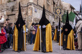 The extraordinarily Christian procession of the Holy Week. — Stock Photo