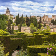 Alhambra in Granada, Spain — Stock Photo