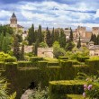Stock Photo: Alhambrin Granada, Spain
