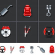 Stock Photo: Car parts 2