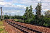 The railway. — Stock Photo