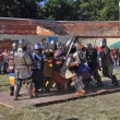 Knightly tournament. - Stock Photo