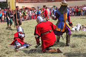 Knightly tournament. — Stock Photo