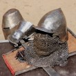 Knightly armour. — Stock Photo
