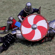 Knightly duel. — Stock Photo