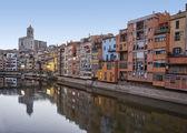 Girona in the Morning — Stock Photo