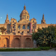 The National Museum in Barcelona — Stock Photo