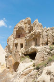Open air Museum - Cave pigeon houses — Stock Photo