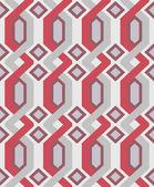 Vector geometric seamless pattern — Stock Vector