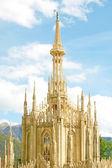 瑞士大教堂圆顶 — 图库照片