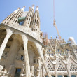 SagradFamiliby Antoni Gaudi in BarcelonSpain — Stock Photo #11412778