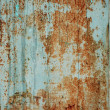 Texture rusty iron plate — Stockfoto