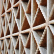 Pattern of wood vents — Stock Photo