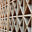 Pattern of wood vents — Stock Photo #11585582