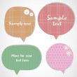 Bubbles for speech - Imagen vectorial